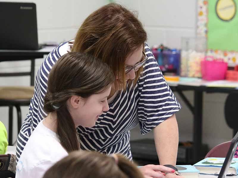 teacher and student learning